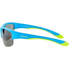 Alpina Flexxy HR Okulary Młodzież, blue matt-lime/black